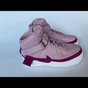NEW Nike Air Force 1 Hi XX Jester Pink Berry White